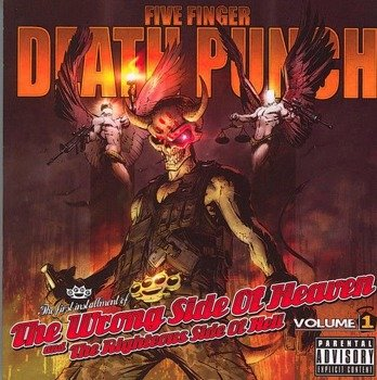 FIVE FINGER DEATH PUNCH : THE WRONG SIDE OF HEAVEN AND THE RIGHTEOUS SIDE OF HELL VOL.1 (CD)