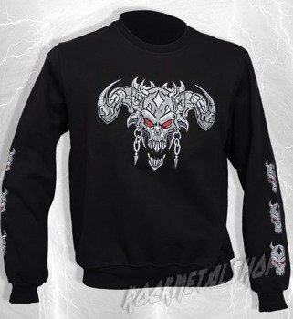 bluza DEMON SKULL bez kaptura