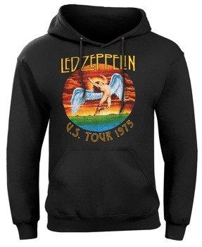 bluza LED ZEPPELIN - USA TOUR 1975, kangurka z kapturem