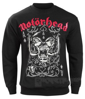 bluza MOTORHEAD - PLAYING CARD, bez kaptura
