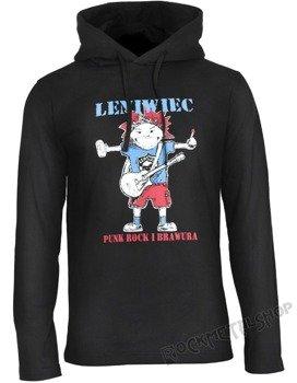 bluza z kapturem LENIWIEC - PUNK ROCK I BRAWURA
