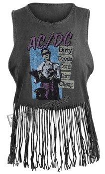 bluzka damska AC/DC - DIRTY DEEDS VINTAGE, na ramiączkach