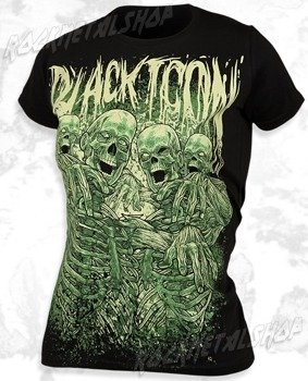 bluzka damska BLACK ICON - ZOMMMBBBIIIES (DICON078 BLACK)