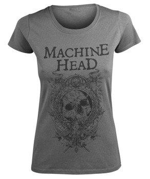 bluzka damska MACHINE HEAD - CLOCK grey