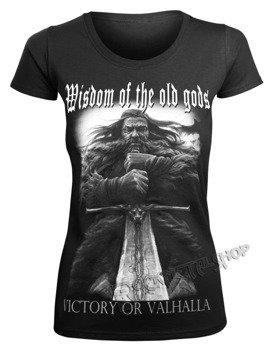 bluzka damska VICTORY OR VALHALLA - WISDOM OF THE OLD GODS