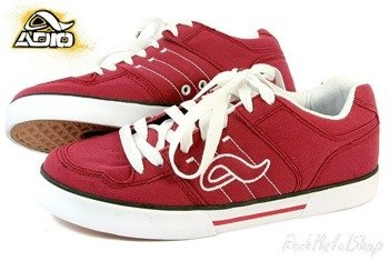 buty damskie  ADIO- TARO WOMENS (deep red-white)