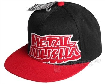 czapka METAL MULISHA - DIPPED red/black