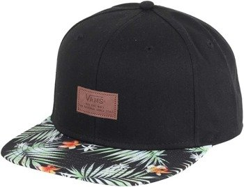 czapka VANS - ALLOVER IT BLACK DECAY PALM