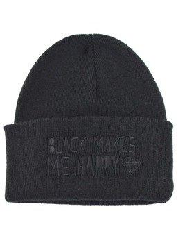 czapka zimowa DARKSIDE - BLACK MAKES ME HAPPY