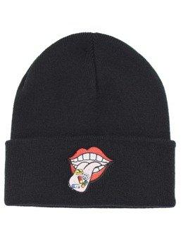 czapka zimowa DARKSIDE - HAPPY PILL TONGUE