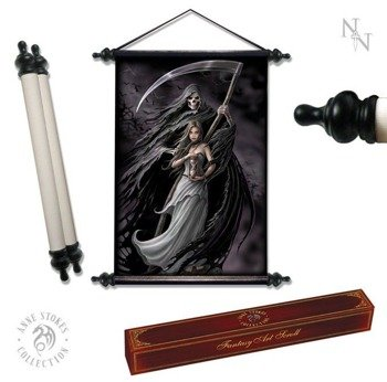 dekoracja ANNE STOKES - ART SCROLL THE REAPER