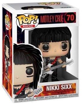 figurka MOTLEY CRUE - NIKKI SIXX, Funko Pop!