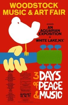 flaga WOODSTOCK