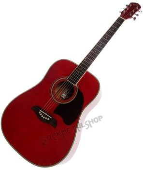 gitara akustyczna WASHBURN OG2 (TR) OSCAR SCHMIDT Transparent Red