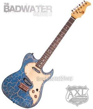 gitara elektryczna AXL / EL DORADO TELE / BLUE CRACKLE