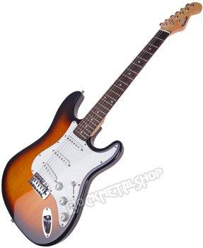 gitara elektryczna CRAFTMAN KST-38R/SB SUNBURST