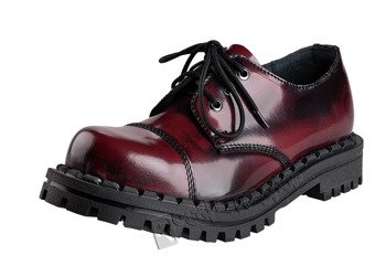 glany ALTERCORE bordo przecierane 3-dziurkowe (350 BORDO/MAROON/BURGUNDY RUB-OFF)