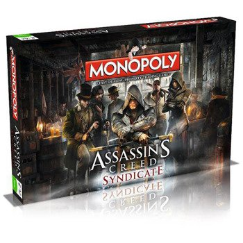 gra planszowa ASSASSIN'S CREED SYNDICATE BOARD GAME MONOPOLY, English Version