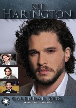 kalendarz KIT HARINGTON 2018