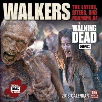 kalendarz THE WALKING DEAD 2018