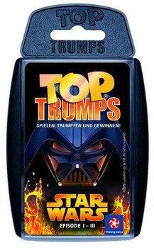 karty STAR WARS - EPISODE I-III TOP TRUMPS, German Version