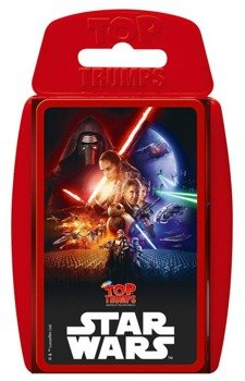 karty STAR WARS - EPISODE VII TOP TRUMPS, German Version