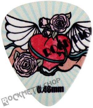 kostka gitarowa ROCK PICK - WINGED HEART