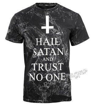 koszulka AMENOMEN - HAIL SATAN AND TRUST NO ONE (OMEN095KM ALLPRINT WHITE)