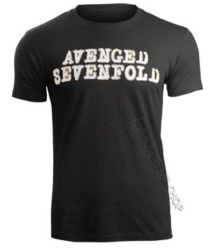 koszulka AVENGED SEVENFOLD - LOGO AND DEATH BAT
