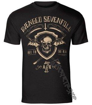 koszulka AVENGED SEVENFOLD - SHIELD AND SICKLE