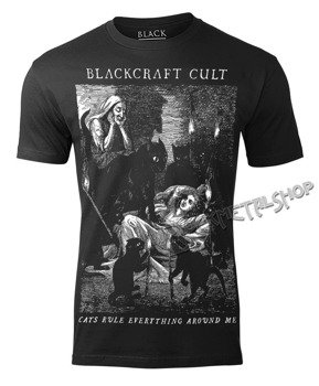 koszulka BLACK CRAFT - CATS RULE
