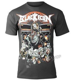 koszulka BLACK ICON - SNOW WHITE (MICON110 DARK GREY)
