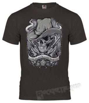 koszulka BLACK ICON - THE COVBOY (MICON100 DARK GREY)