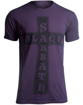 koszulka BLACK SABBATH - VINTAGE CROSS BURNOUT