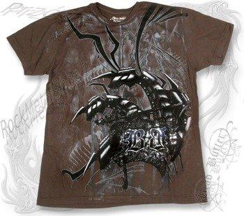 koszulka BRAD BUTTER (BROWN) (BBM1567)