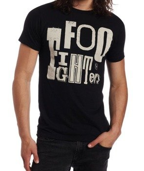 koszulka FOO FIGHTERS - RANDOM LETTERS LOGO