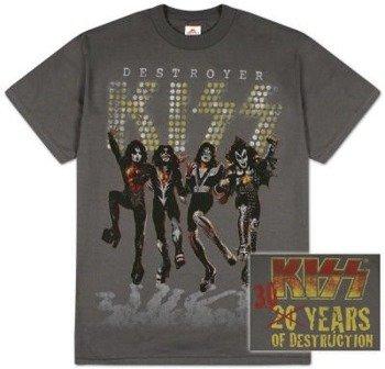koszulka KISS - 30 YEARS OF DESTRUCTION