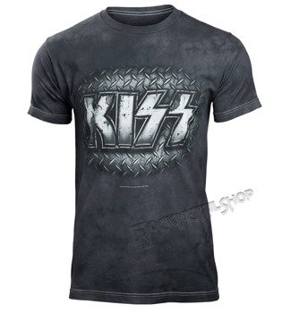 koszulka KISS - METAL, barwiona