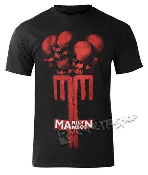 koszulka MARILYN MANSON - SKULL CROSS
