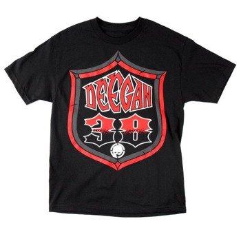 koszulka METAL MULISHA - DEEGAN SHIELD czarna
