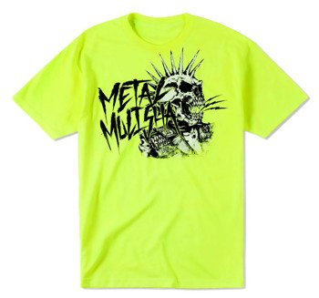koszulka METAL MULISHA - PUNK neon green