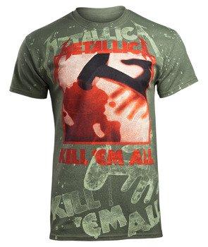 koszulka METALLICA - KILL'EM ALL olive, Allprint