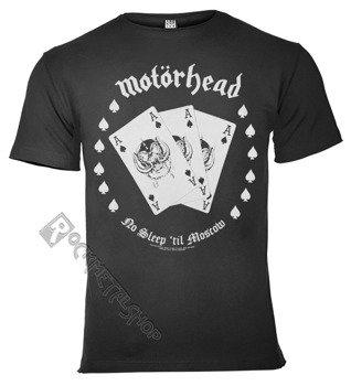 koszulka MOTORHEAD - CARDS ciemnoszara