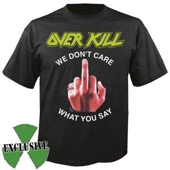 koszulka OVERKILL - FUCK YOU