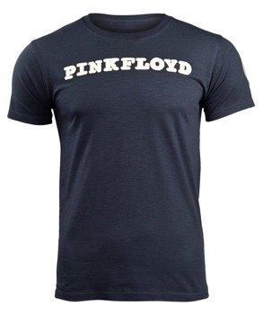 koszulka PINK FLOYD - LOGO & PRISM WITH APPLIQUE MOTIFS navy