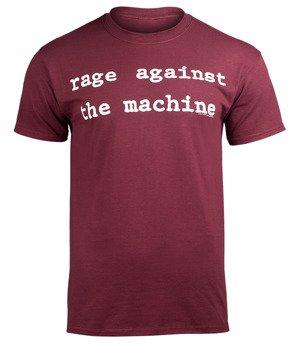 koszulka RAGE AGAINST THE MACHINE - MOLOTOV maroon