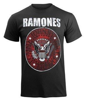 koszulka RAMONES - RED FILL SEAL