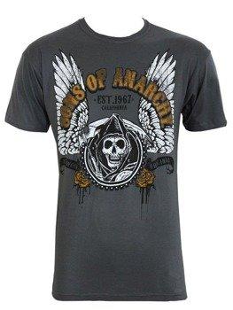 koszulka SONS OF ANARCHY - WINGED LOGO