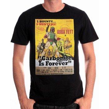 koszulka STAR WARS - BOBA FETT COVER czarna