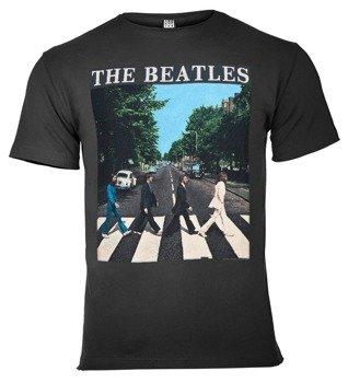koszulka THE BEATLES - ABBEY ROAD ciemnoszara